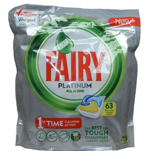 Fairy Platinum 68 капсули за съдомиялна Фейри